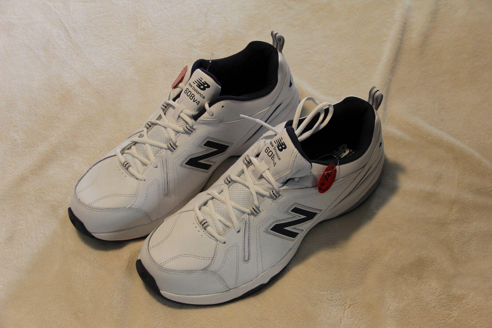 Nuovo equilibrio degli uomini crosstrainer 608v4 crosstrainer uomini scarpe nb dimensioni 16 ampia 883505