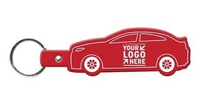 250-Personalized-Car-Shaped-Flexible-Key-Tags-Printed-with-Logo-Message