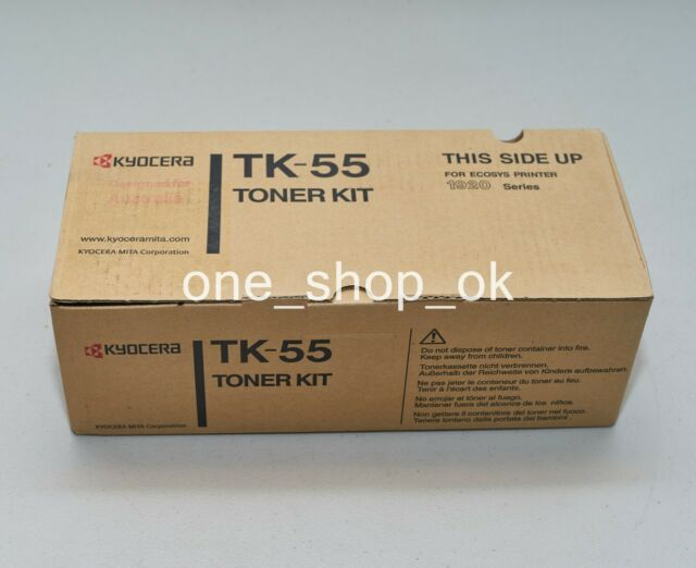 Genuine Kyocera TK-55 Black Toner Cartridge