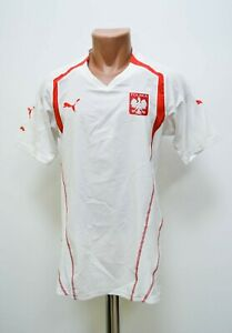 buy online 1773b 09dc0 Details about POLAND NATIONAL TEAM 2004/2006 HOME FOOTBALL SHIRT JERSEY  PUMA SIZE S ADULT