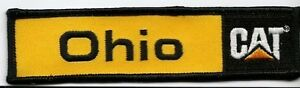 "Ohio Cat ""Caterpillar"" dealer patch 1-1-4X5 in #404 g79nbINg-09092106-102128790"