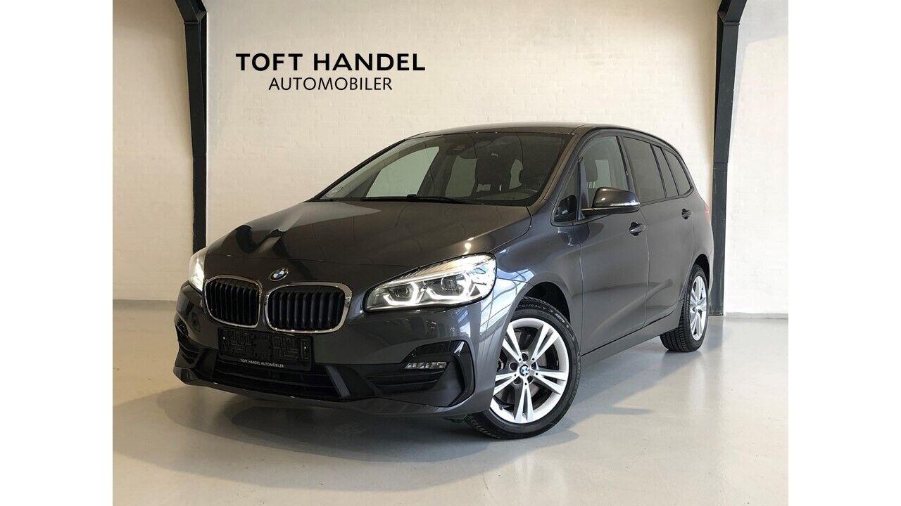 BMW 218d 2,0 Gran Tourer Advantage aut. 7p 5d - 349.900 kr.