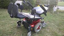 PERMOBIL M-300 Power Wheelchair Red 34'' SUPERSTRONG HEAVY DUTY Mint Condition