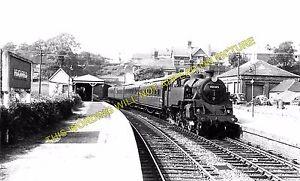 Heathfield Railway Station Photo 14 Waldron Polegate to Eridge. Mayfield