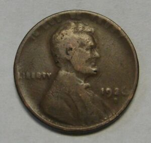 1926 LINCOLN WHEAT CENT FREE AND PROMPT SHIPPING