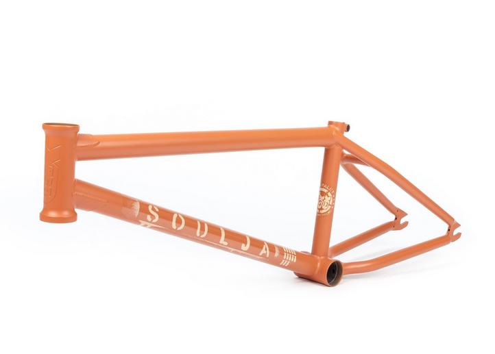 BSD SOULJA V3 20.6 AGENT ORANG DAN PALEY SIG BMX BIKE FRAME 20.6 BIKES