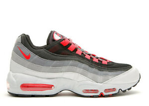 huge selection of a1dc1 79bad Image is loading Nike-Air-Max-95-Size-11-BLACK-HOT-