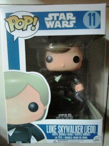 2011 Funko Pop Star Wars Jedi #11 Luke Skywalker vaulted  brand new blue box htf