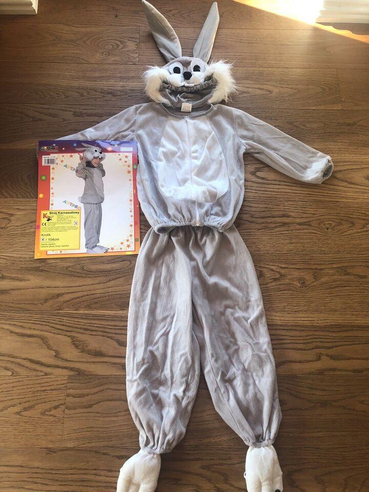 Udklædningstøj, Kanin fastelavnskostume, Ukendt