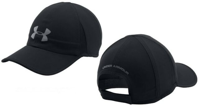 be8ca57113b Under Armour Heat Gear Shadow 4.0 Running Hat Cap Men 1291840 Grey ...