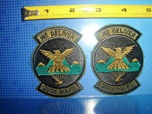Details about RARE VINTAGE UNITED STATES AIR FORCE MILITARY PATCHES 39TH  MAPS WE DELIVER USAF