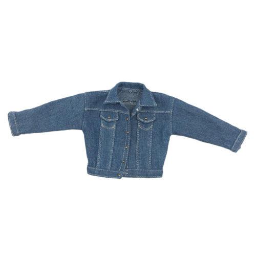 1//6  Homme Jeans Veste pour 12 pouces Figurine Personnage Jouets Poupée