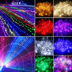 30-50M-300-400LED-String-Fairy-Lights-Wedding-Party-Christmas-Home-Garden-Decor