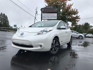 2014 Nissan Leaf SL Premium Bose + Cuir + GPS, 6.6 kwh,Recharge 110v/220v et 400v