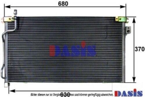 AKS DASIS Kondensator Klimaanlage Klimakondensator Klimakühler 072007N