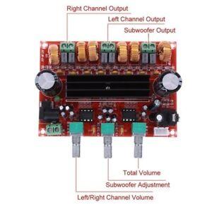 New-2x50W-100W-2-1-Channel-Digital-Subwoofer-Power-Amplifier-Board-TPA3116D2