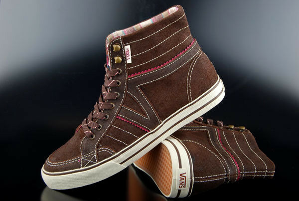 VANS BROWN SNEAKER CORRIE HI HIKER BROWN VANS TURTLEDOVE 8b7d0c