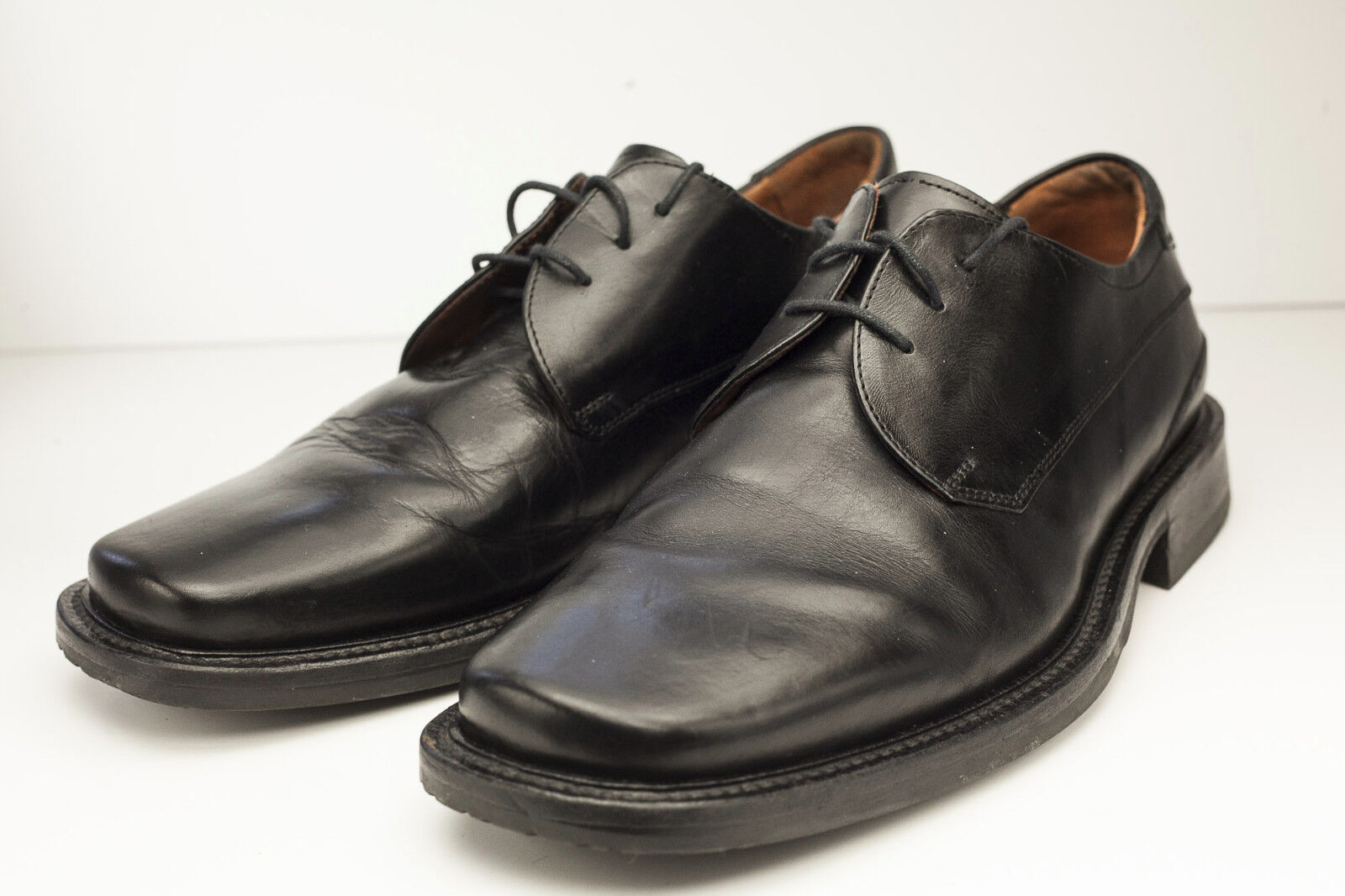 Johnston & Murphy 9 Black Oxford Dress shoes Men