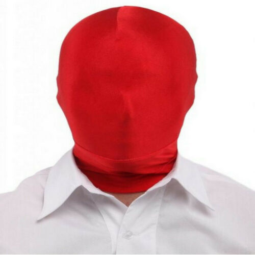 Spandex Stoff Maske Kopfmaske aus Stretchstoff Kopf Maske Zentai Maske