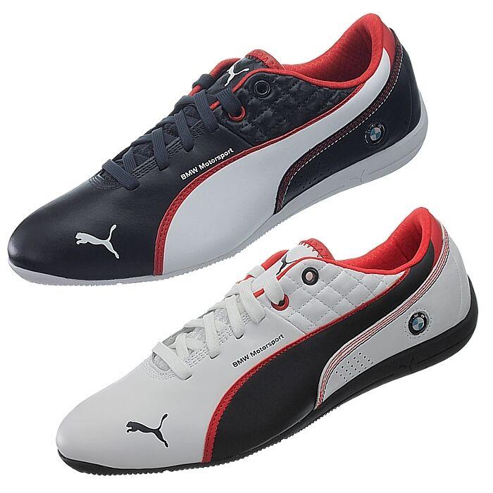 Puma Drift Cat 6 Herren Sneaker blau oder weiß BMW Edition edle Freizeitschuhe