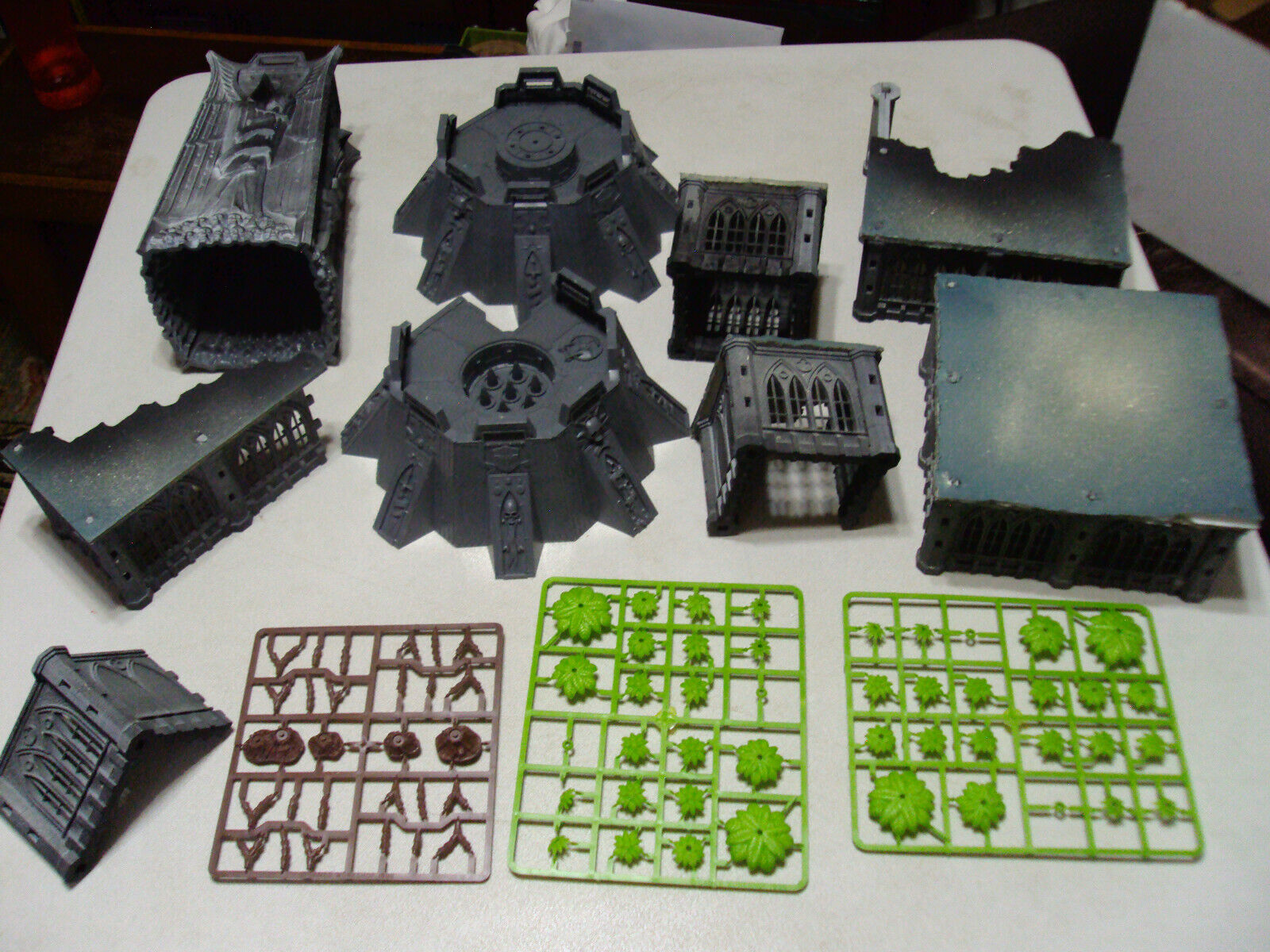 GROUP OF BUILDINGS FOR RPG GAMES