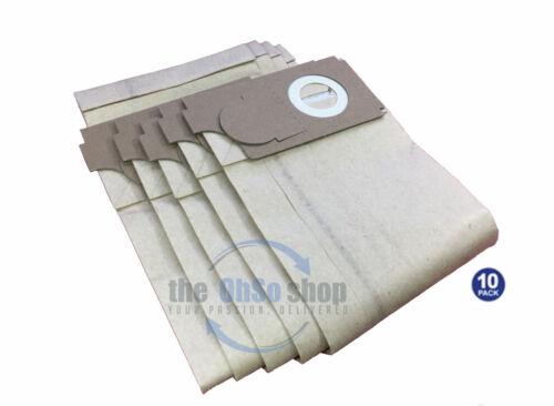 10 x JEYES//RECKITT Ensign Aspirateur Papier Poussière Sacs pour s/'adapter 350 450