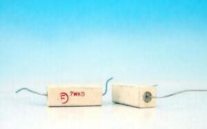 5x 0,15 Ohm//7 Watt Wirewound Power Resistor