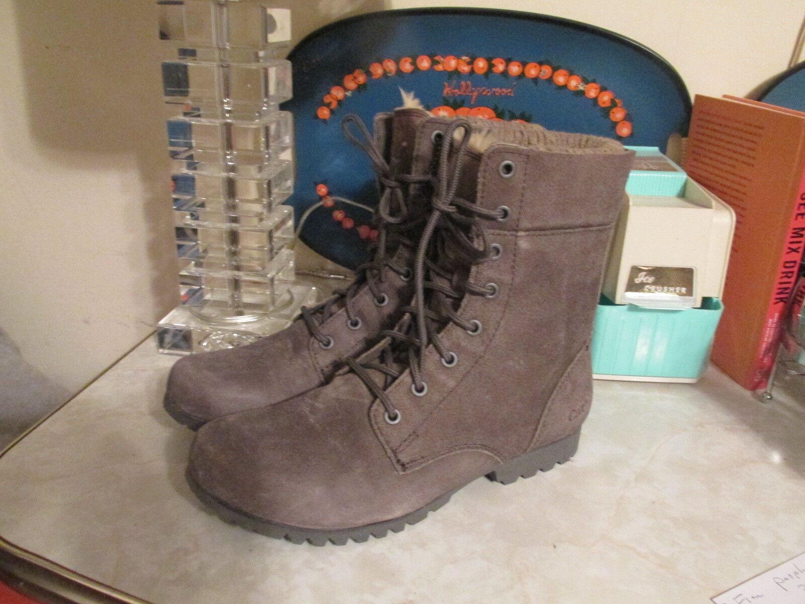 CAT Footwear Alexi Boot faux fur lining Size11 women's P307077 NWOB