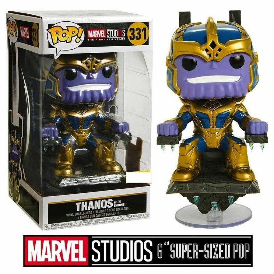 Marvel: THANOS  WITH THRONE  DELUXE EXCLUSIVE Funko Pop Vinyl Figure  PRE-ORDER