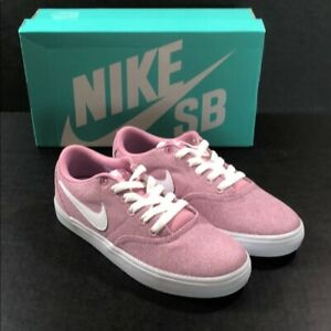 51076b681c82a Nike women's Nike sb check solar CVS P New with box Color pink white ...