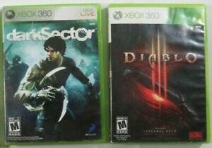 Dark-Sector-amp-Diablo-3-Microsoft-Xbox-360-2008-Complete