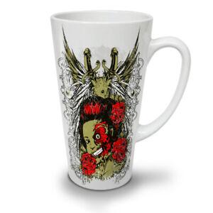 Dead Girl Rose Zombie NEW White Tea Coffee Latte Mug 12 17 oz   Wellcoda