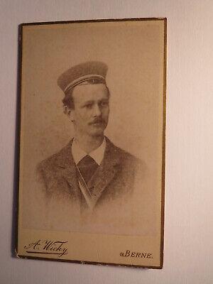 Berne /bern - H. Leuenberger Als Medizinstudent Im Ws 1892/93 - Cdv / Studentika
