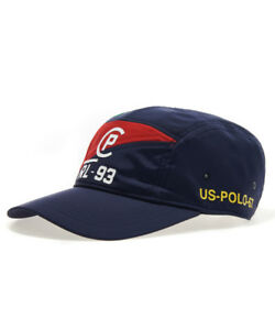 Poli Ralph Lauren CP-93 Limited Edition 5-Panel Cap Sailing NAVY//RED