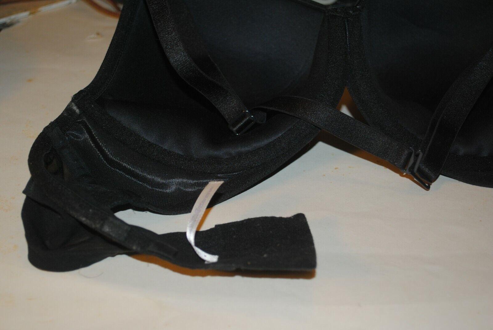 Cacique Brand 44C Black Ladies Brassiere - image 5