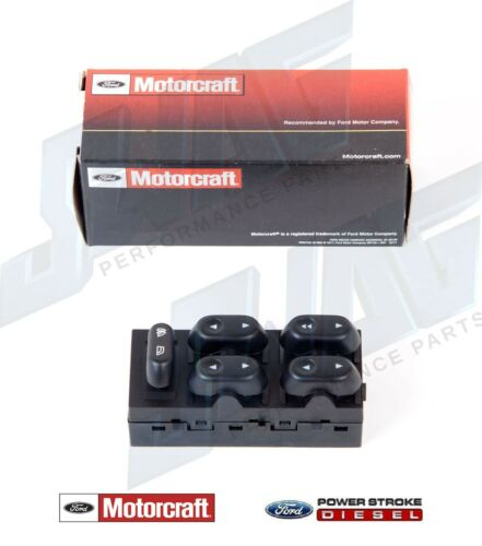 OEM Motorcraft Driver Side Master Window Switch Ford F150 Expedition Crown Vic