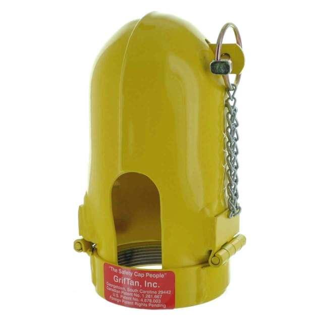 Industrial Gas Cylinder Safety Transport Caps 3.125 x 11 UN Fine Thread  33 Caps