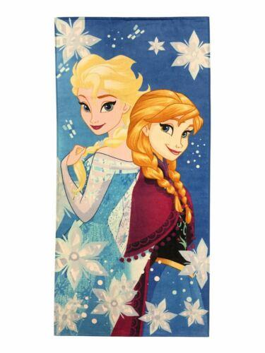 Disney Frozen Anna /& Elsa Beach Towel Cotton 28 x 58