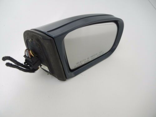 Mercedes E class 2001 W210 E320 right side door mirror Turquoise 2108109416 OEM