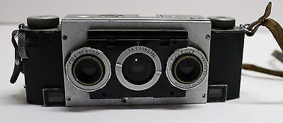 David White Stereo Realist 35mm Rangefinder Film Camera