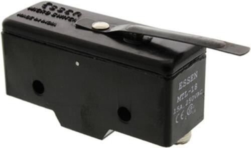 0,5 A 125V DC 1 x RS Pro Heavy Duty molla leva microinterruttore SPDT 15A @ 250V AC