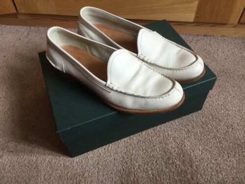 38 Loafers Ivory Eu Size 5 5 Ladies Church's Sally Nubuck 5 Leather gqxWt67vw