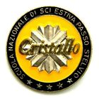 Spilla Cristallo Scuola Nazionale Di Sci Estiva Passo Stelvio (E. Granero Pie