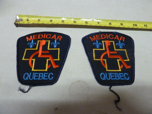 Medicar Quebec Ambulance Patches