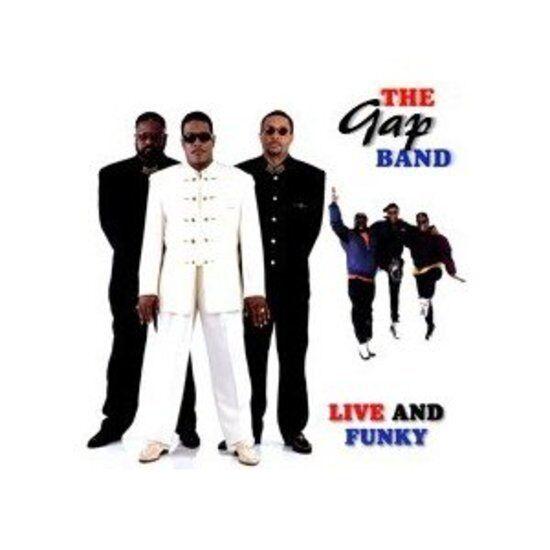 Gap Band, the - Live and Funky CD NEU OVP
