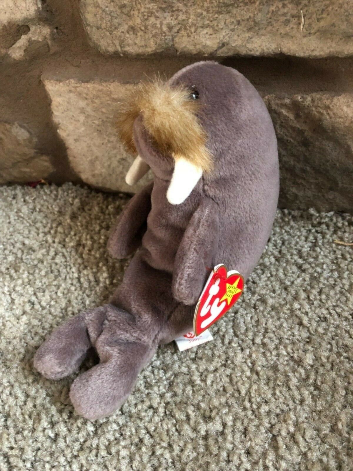 Jolly Ty beanie baby rare with errors