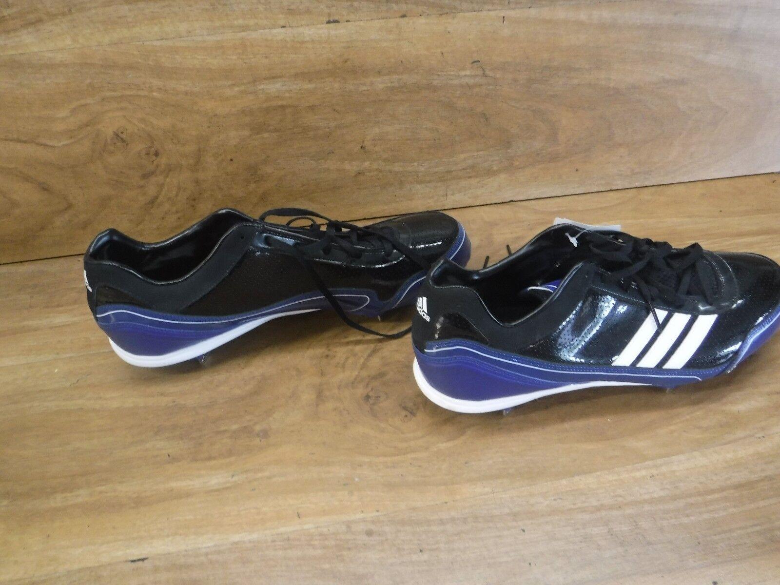 5d32e25f8be06 ... adidas dk foudre bas chaussures de 12 baseball taille 12 de 1   2 bleu  royal ...