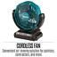 thumbnail 3 - New Makita CF101DZ 12V Max Li-ion CXT Cordless Jobsite Work Fan 180mm Tool Only