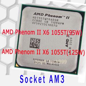 Amd Phenom Ii X6 1055t Cpu 2 8 Ghz 6m 667 Mhz 95w 125w Socket Am3 Processor Ebay