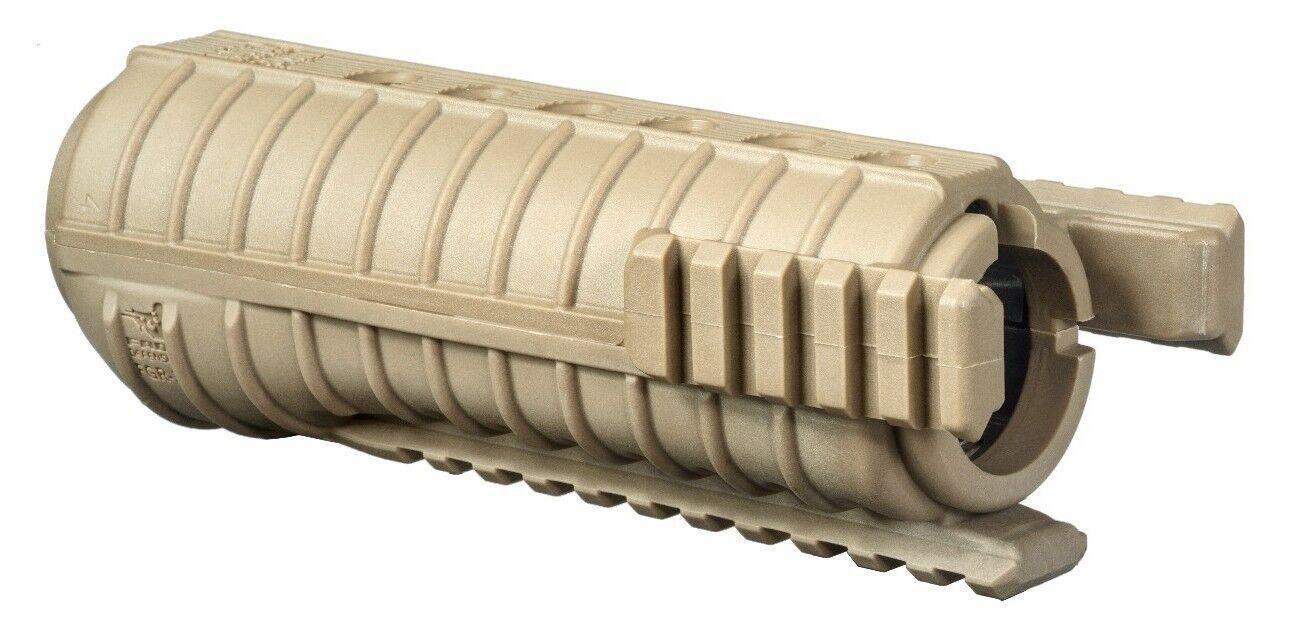 Fab Defense-FGR-3-S, Tan Farbe, Farbe, Tan Tri-Polymer Rail Handguard. 5aa29b